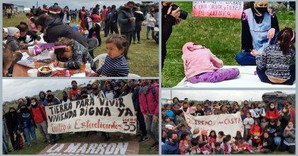 Estudiantes de zona sur en solidaridad con las familias y niños de Guernica.