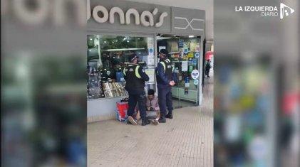 Escandaloso: detuvieron a un repartidor de Pedidos Ya por amarrar su bicicleta