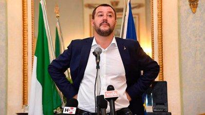 Matteo Salvini, el rostro del racismo en Italia