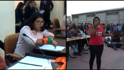 """[VIDEO] Gutierrez: """"Queremos plata para la educación, no para la deuda y el FMI"""""""