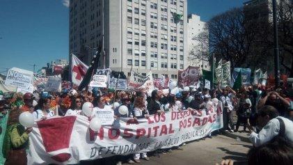 [Videos] Marcha Federal en defensa de la salud pública: se movilizaron a Plaza de Mayo contra el ajuste