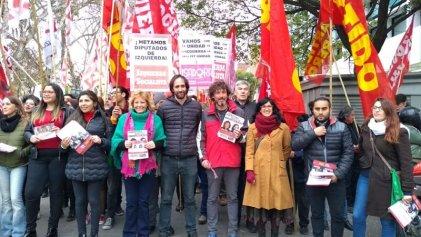 El Frente de Izquierda Unidad cerró su campaña en Córdoba