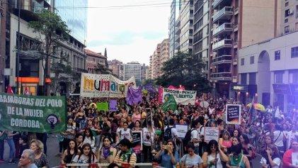 25N en Córdoba: marcha contra la violencia patriarcal y en solidaridad con los pueblos latinoamericanos