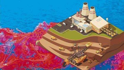 El crimen ambiental de la megaminería capitalista avanza