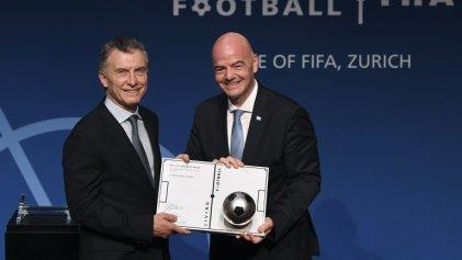"""Lo que faltaba: Macri será presidente de la fundación """"solidaria"""" de la FIFA"""