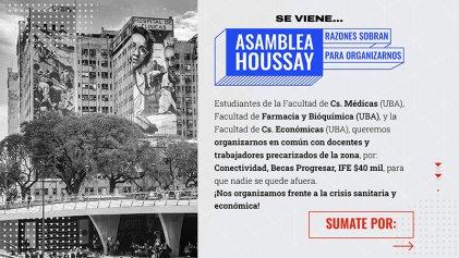 Asamblea Houssay: Razones sobran para organizarnos