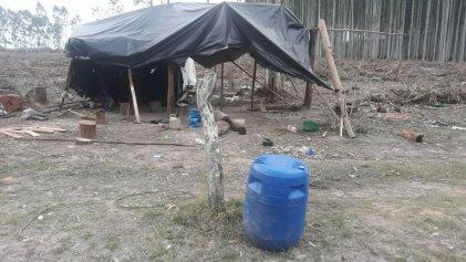 Sin agua, sin luz y un capataz armado: rescatan a trabajadores rurales en Entre Ríos