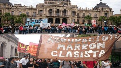 Marcha Federal Educativa: importante movilización en Tucumán