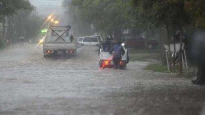 La Pampa: temporal en Santa Rosa