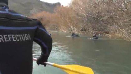"""[Video] Otra operación de Bullrich: los buzos inseguros y las """"aguas sagradas"""""""