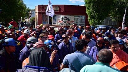 Santa Cruz: los mineros de Río Turbio marcharon a la Cámara de Diputados