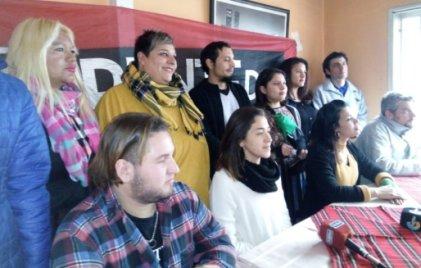 Pilar: El Frente de Izquierda Unidad presentó a sus candidatos en conferencia de prensa