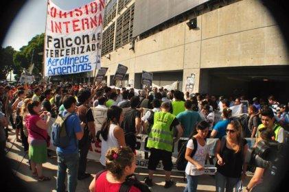 Elecciones en Falcon: la campaña de la Bordó se extiende en Aeroparque