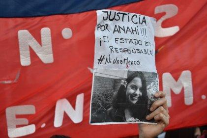 Un año y medio sin Anahí: seguimos exigiendo verdad y justicia