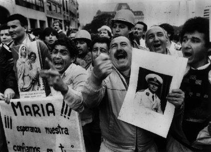 La virgen de San Nicolás y la privatización de SOMISA