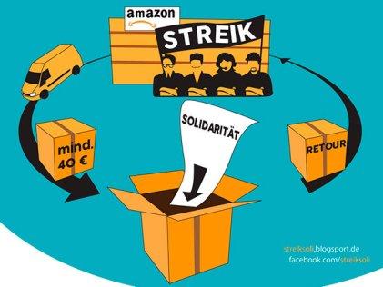 """En apoyo a trabajadores, instan a """"hacer un pedido en Amazon y devolver el paquete"""""""