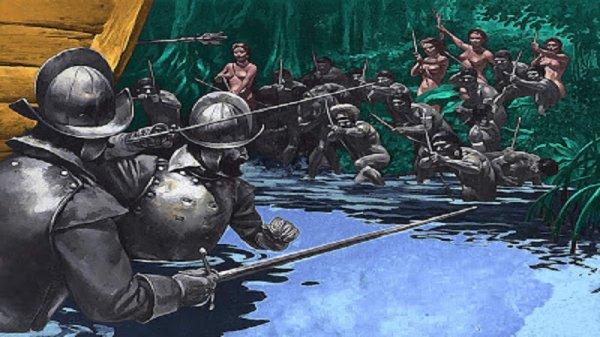 Genocidio, saqueo, explotación y lucha
