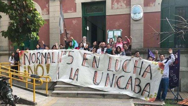 Estudiantes imputados por defender la educación pública