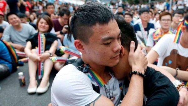 Una conquista en Asia: legalizan el matrimonio igualitario en Taiwán