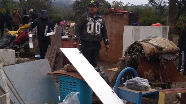 Familia desalojada para beneficiar negocio inmobiliario en Jujuy