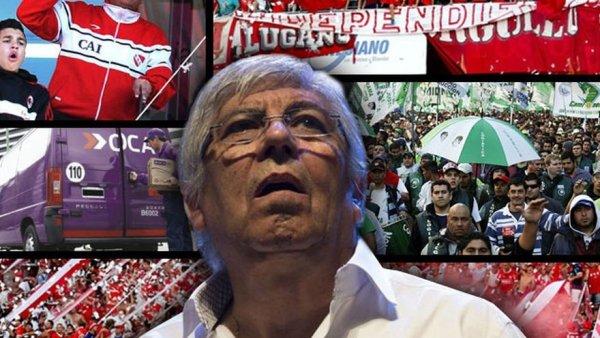 Independiente al ritmo de las internas sindicales