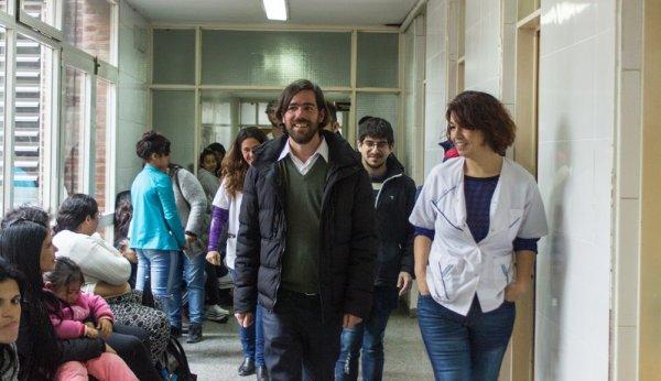"""Del Caño: """"En el partido de Insaurralde los trabajadores sobreviven con salarios de hambre"""""""