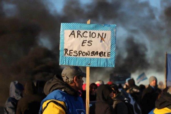 Chubut: los docentes siguen firmes, llevan trece semanas de lucha